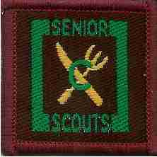 The Senior Scout Caterer Badge